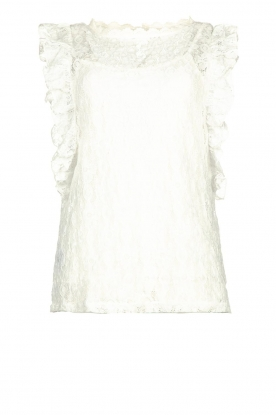 JC Sophie |Lace top Amalia | white