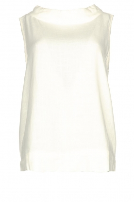 JC Sophie | Sleeveless top Dee | white