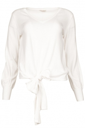 JC Sophie | Tie knot sweater Dorothy | white