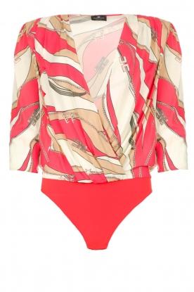 ELISABETTA FRANCHI |  Body blouse Chain | pink