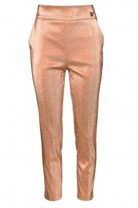 ELISABETTA FRANCHI |  Sparkling trousers Sparkle | pink