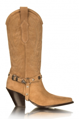 Toral |  Suede boots Fiona | brown