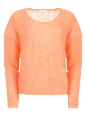 American Vintage |  Knitted sweater Zazow | peach