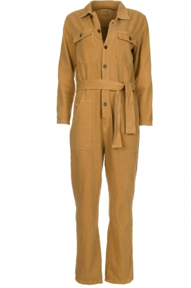 American Vintage |  Denim boilersuit Tine | camel