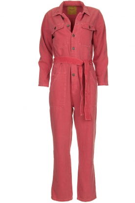 American Vintage |  Denim boilersuit TIne | pink