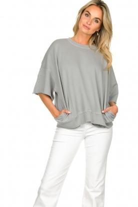 American Vintage    Sweater Ofibird   grey