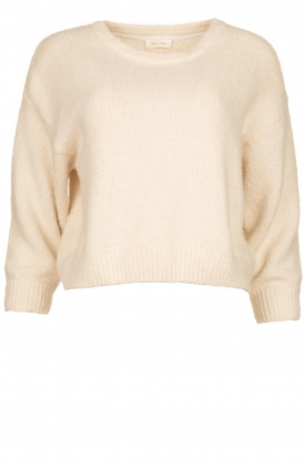American Vintage |  Soft knitted sweater Cutebay | natural