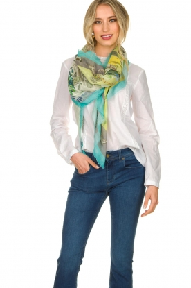 Moment by Moment |  Scarf Bloem | green