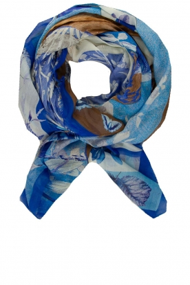 Moment by Moment | Scarf Bloem | blue