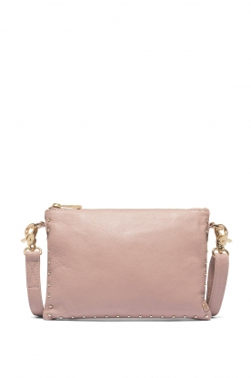 Depeche |  Leather shoulder bag Fine | pink