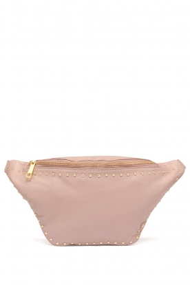 Depeche |  Leather fanny pack Lisanne | pink