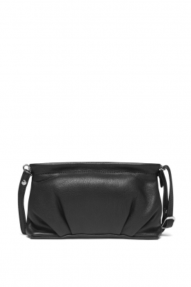 Depeche |  Leather shoulder bag Nova | black