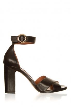 Matteo Pitti | Leren sandalen Daphne | zwart