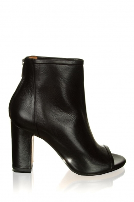 Matteo Pitti | Leather ankle boots Diver | black