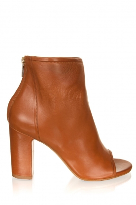 Matteo Pitti | Leather ankle boots Diver | brown