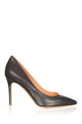 Matteo Pitti | Leather pumps Vitello | blue