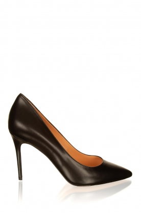 Matteo Pitti | Leather pumps Vitello | black