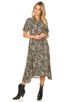 Look Printed midi dress Blake
