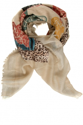 Moment by Moment |  Printed scarf Brent | multi