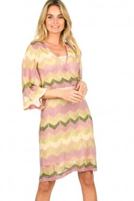 Second Female |  Printed dress Valora | pink
