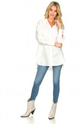 Look Linen blouse Lune