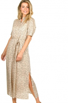 Second Female |  Floral maxi dress Wing | natural