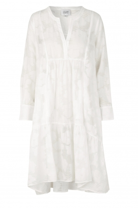 Second Female |  A-line dress Mila | white