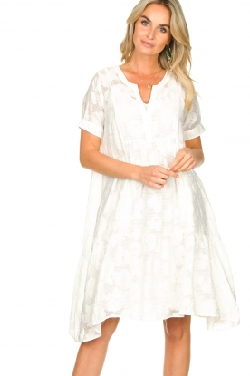 Second Female |  A-line dress Mila | white