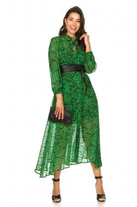 Look Printed maxi dress Sanquin