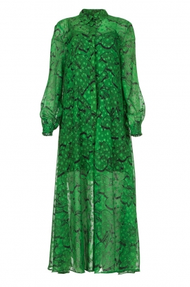 Silvian Heach |  Printed maxi dress Sanquin | green