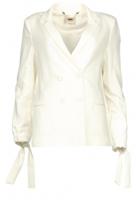 Fracomina | Double-breasted blazer Jana | white