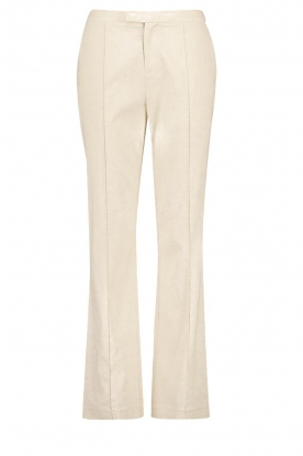 Aaiko | Straight trousers Lanella | natural