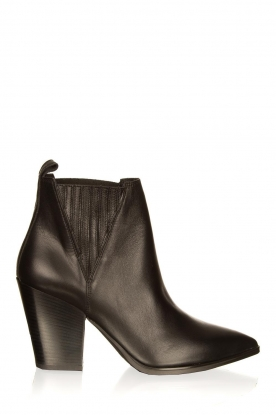 Janet & Janet |Leather boots Noelle | black