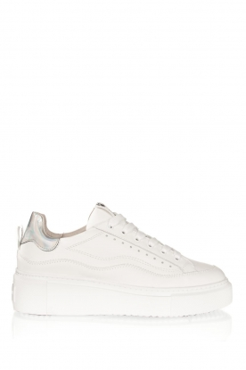 Janet & Janet | Leather sneakers Lavinia | white