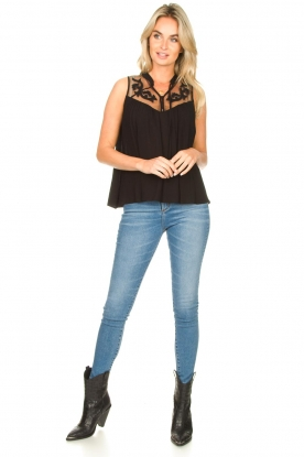 Look Sleeveless top with lace Krasnodar
