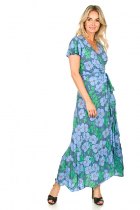 Look Floral maxi dress Aiko