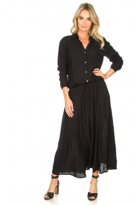 Genesis |  Maxi dress Daik | black