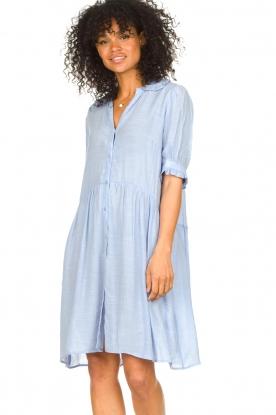 Sofie Schnoor |  See-through dress Valeria | blue