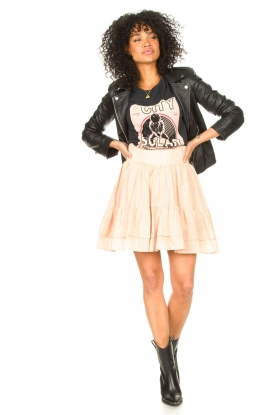 Look Lurex skirt with ruffles Polly