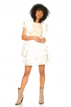 Look Embroidery skirt Shaela
