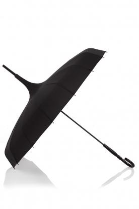 Lisbeth Dahl | Paraplu Pagoda | zwart