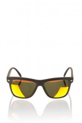 Spektre | Zonnebril Memento Matte Black | oranje