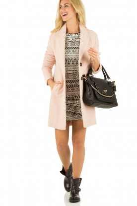 Essentiel Antwerp | Jas Hencoat | roze