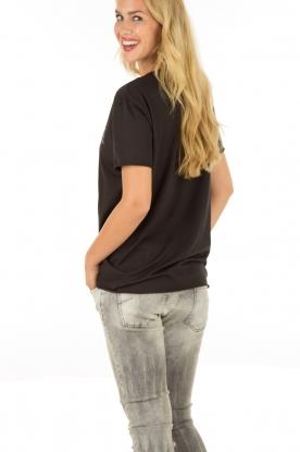 Zoe Karssen | T-shirt Le Freak | zwart