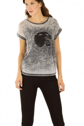 Set | T-shirt Cindy | grijs