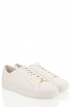 Leather sneakers Colby | white
