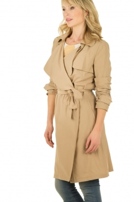 ba&sh | Trenchcoat Ana | camel