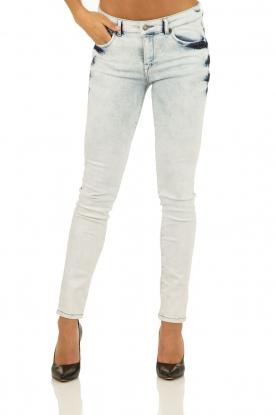 IKKS | Skinny jeans Bleach | blauw