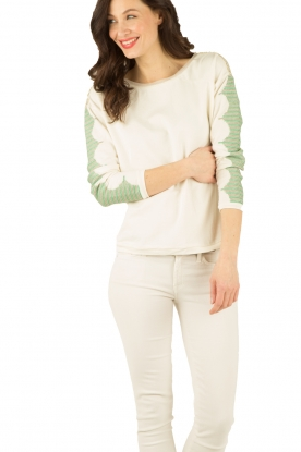 Sweater Jade | white