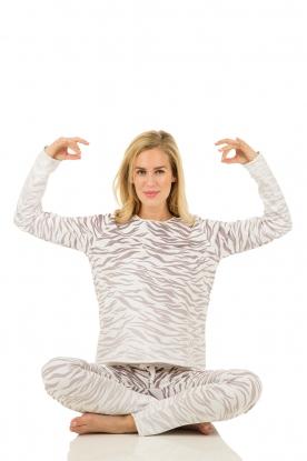 Sweater Zebra | grijs